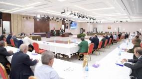 """الأمناء العامون للفصائل يبحثون تشكيل """"القيادة الوطنية الموحدة"""" وتطورات الحوار الشامل"""