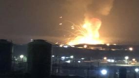 4 قتلى وعدد من الجرحى جراء انفجار خزان المازوت في بيروت