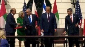 ترمب: السعودية ستنضم في نهاية الأمر لاتفاقات التطبيع مع إسرائيل