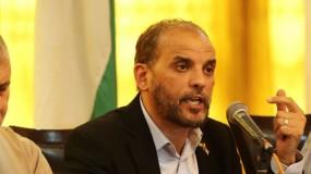 حسام بدران: نريد انتخابات فلسطينية حرة على قاعدة الشراكة الوطنية
