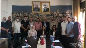 التعبئة والتنظيم تعتمد لجنة اقليم القدس الجديدة