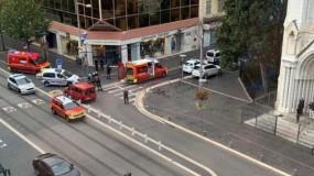ثلاثة قتلى وعدة إصابات في حادثة طعن قرب كنيسة في مدينة نيس بفرنسا