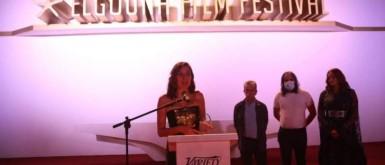 المنتجة الفلسطينية مي عودة تفوز بجائزة مجلة فارايتي لأفضل موهبة عربية