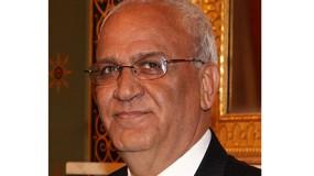 """فصائل وقيادات فلسطينية ينعون """"د.صائب عريقات"""""""
