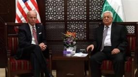 الرئيس عباس يتطلع لفتح صفحة جديدة مع الإدارة الأمريكية