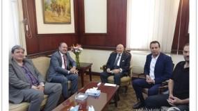 وفد من الهيئة المستقلة يجتمع بالمجلس القومي لحقوق الإنسان في القاهرة لنقاش جملة من القضايا الحقوقية