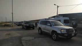 وصول وفد سفراء الاتحاد الأوروبي إلى قطاع غزة