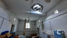 مجدلاني يدين القصف الذي طال مبنى لوزارة التنمية الاجتماعية بغزة