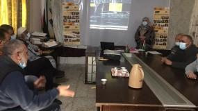 جمعية دير البلح للتنمية المجتمعية والطفولة تعرض فيلم يوما ما
