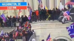 متظاهرون من أنصار ترامب يدخلون مبنى الكونغرس وحظر التجول في واشنطن