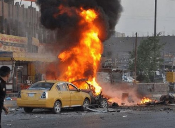 مجزرة دامية.. نحو 100 قتيل وجريح في تفجيريين انتحاريين وسط بغداد