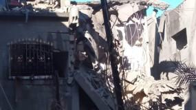 إصابة 30 مواطن جراء انفجار ضخم هز بلدة بيت حانون