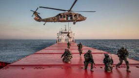 جيش الاحتلال: أحبطنا نشاطًا بحريًا شكّل تهديدًا لسفننا في بحر غزة
