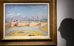 لوحة مغربية من لوحات وينستون تشرشل تعرض للبيع في مزاد بلندن