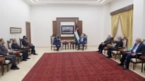 خلال لقاء مع الرئيس عباس.. هيئة الانتخابات بالأردن تقرر إرسال وفد خلال الانتخابات الفلسطينية