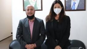 د.ابو هولي يبحث مع نائب المفوض العام للأونروا اوضاع اللاجئين الفلسطينيين في المخيمات وتطورات الازمة المالية