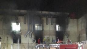 العراق.. إرتفاع حصيلة انفجار أنابيب أكسجين داخل مستشفى ببغداد ومقتل نحو 58 مريض كورونا