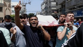 الاحتلال يعلن بدء عملية عسكرية واسعة في غزة وسيدة أولى شهدائها