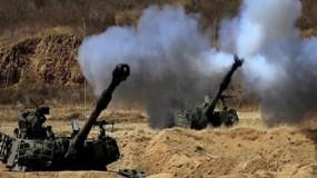 تجدد القصف الإسرائيلي لمناطق قطاع غزة و جيش الاحتلال ينتظر أمرًا للبدء بعملية برية
