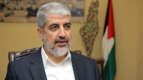 مشعل: بعد الانتصار بالمعركة نرتب بيتنا الفلسطيني وشعبنا سيجني ثمرة التضحيات