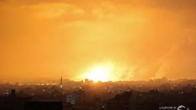 انتشال أربعة شهداء جراء قصف طائرات الاحتلال في بيت لاهيا