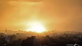 طائرات الاحتلال تقصف أهدافًا في غزة