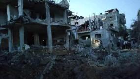 """بـ150 طائرة حربية..إسرائيل تستهدف 160 هدفا في قطاع غزة بينها """"مترو حماس""""!"""
