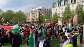 وقفات جماهيرية حاشدة في النرويج و المدن الألمانية أسنادا للشعب الفلسطيني واستنكارا للعدوان الإسرائيلي المتواصل بحق الشعب الفلسطيني