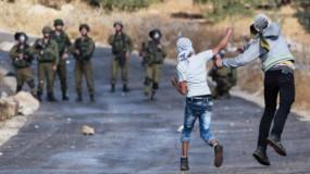 عشرات الإصابات خلال مواجهات مع الاحتلال
