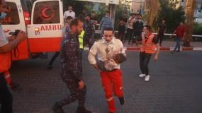 استشهاد طفلة وعدة إصابات في قصف طائرات الاحتلال بقطاع غزة