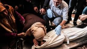 شهيدتان وعشرات الإصابات جراء قصف طائرات الاحتلال