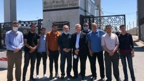 د.مصطفى البرغوثي يصل إلى قطاع غزة عبر معبر رفح ويؤكد على الوحدة الوطنية
