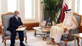 اشتية يدعو أمير قطر لطرح مسار سياسي من أجل تطبيق قرارات الشرعية الدولية