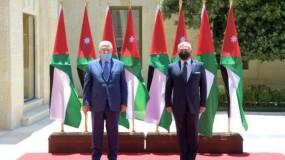 اجتماع الرئيس عباس والعاهل الأردني في عمان