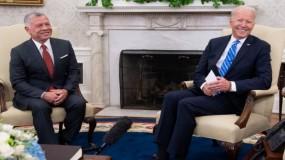 ملك الأردن من البيت الأبيض: يمكنكم الاعتماد علي لإحلال السلام بالمنطقة