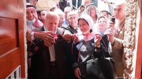 إفتتاح معرض تراثنا هويتنا لدعم المنتجات الوطنية والمشغولات اليدوية في بيت الغصين الأثري