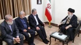 النخالة يشارك بمراسم تنصيب الرئيس الإيراني