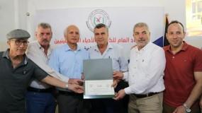 الاتحاد العام للكتّاب والأدباء يستضيف الكاتب عبدالحق شحادة في ضيف منتصف الشهر