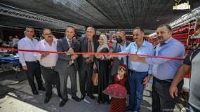 افتتاح سوق العاصمة الثقافية في محافظة الخليل