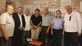 الشرفا وفرحات  في ندوة غسان كنفاني :  مازالت ساعة غسان تدق ديمومة للفعل الثوري الفلسطيني