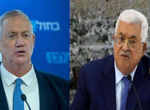 غانتس يرد على تحذير الرئيس عباس: إنه يتسلق شجرة سيصعب عليه النزول منها