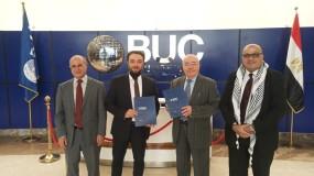 توقيع بروتوكول تعاون بين سفارة فلسطين وجامعة بدر لمساواة الطلبة الفلسطينيين بأشقائهم المصريين بالرسوم الجامعية