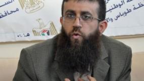 عدنان يدعو إلى تكثيف فعاليات التضامن مع الأسرى المضربين عن الطعام