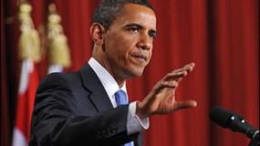 أوباما ينصح المتظاهرين في أمريكا بتحويل الغضب المبرر إلى عمل سلمي وفعال