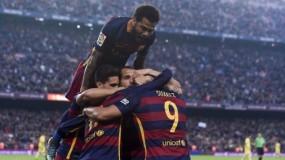برشلونة يسحق إشبيلية برباعية ويرتقى لوصافة الدوري الإسباني
