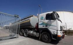 الاحتلال قرر وقف ارسال الوقود الى قطاع غزة
