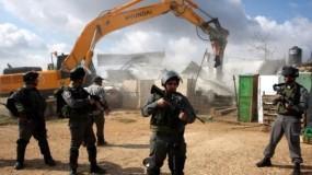 """دولة الاحتلال الاسرائيلي تتوسع في هدم منازل الفلسطينيين في المناطق المصنفة """"ج"""""""