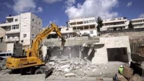 الأمم المتحدة: الاحتلال هدم 617 مبنى وشرد 898 مواطنا عام 2019