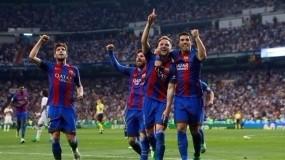 برشلونة يسحق ليفربول بثلاثية ميسي وسواريز