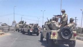 مقتل 5 مجندين شرطة برصاص مسلحين مجهولين وسط سيناء